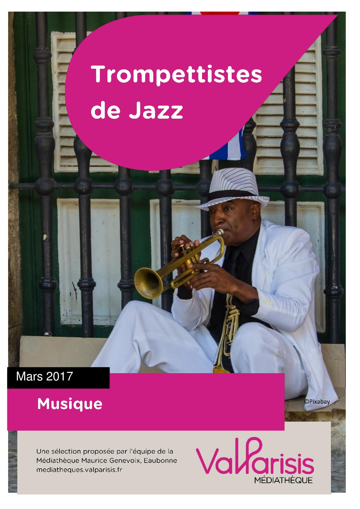 Affiche selection trompettiste de jazz page 001